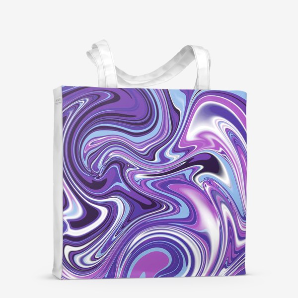 Сумка-шоппер «Мраморный узор»