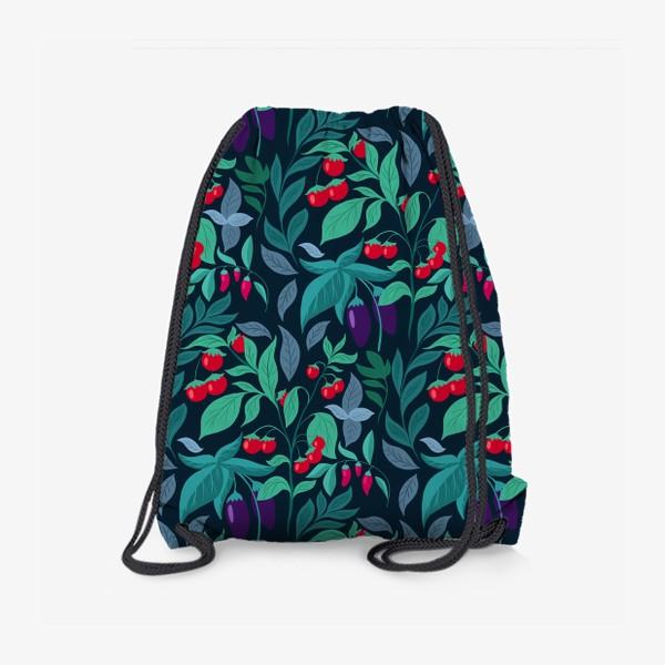 Рюкзак «Паттерн огород »