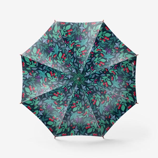 Зонт «Паттерн огород »