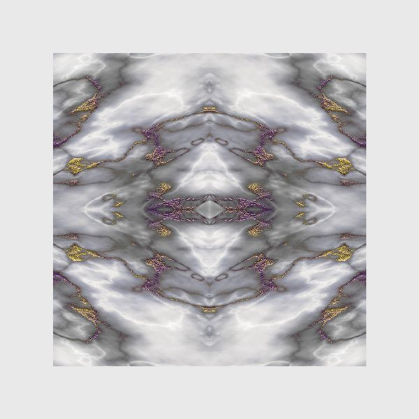 Скатерть «Серый мраморный абстрактный орнамент»