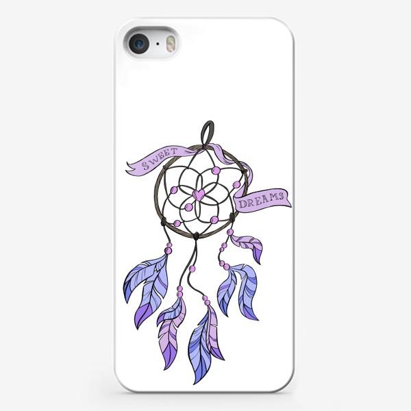 Чехол iPhone «Ловец снов Сиреневые сны»