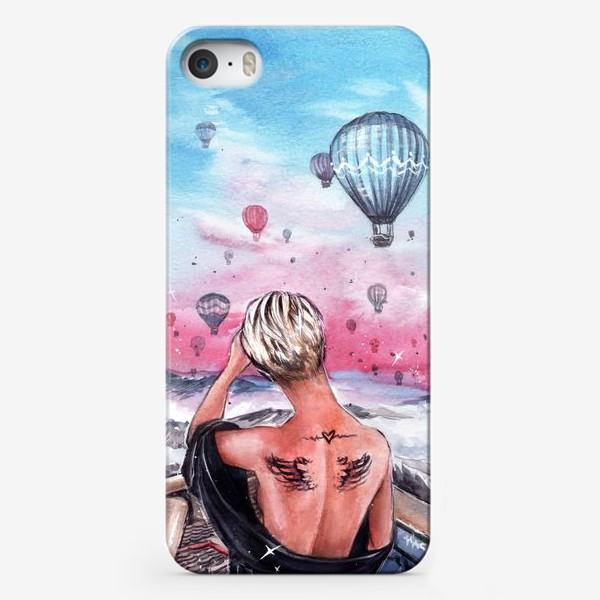Чехол iPhone « почувствуй крылья за спиной»