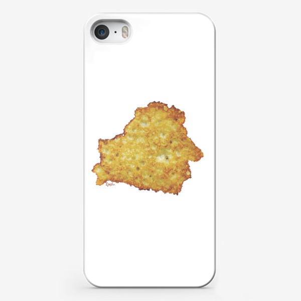 Чехол iPhone «Драник (by Tsesler)»