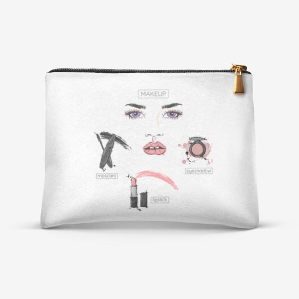 Косметичка «Модная иллюстрация. Макияж»