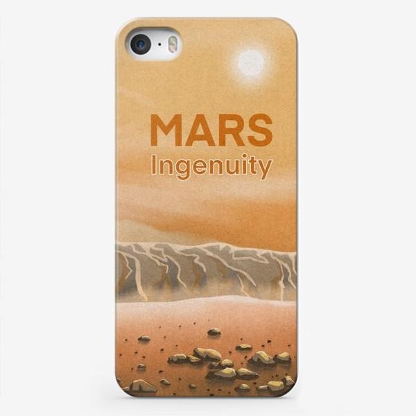 Чехол iPhone «Марсианский вертолет Ingenuity»