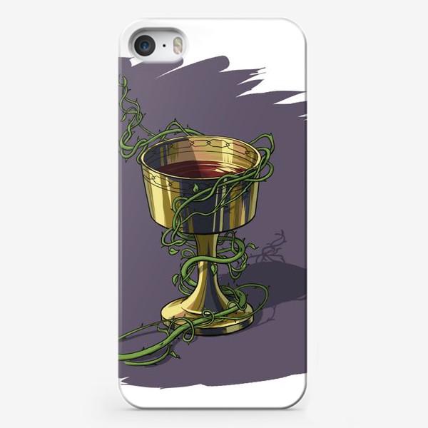 Чехол iPhone «Бокал»