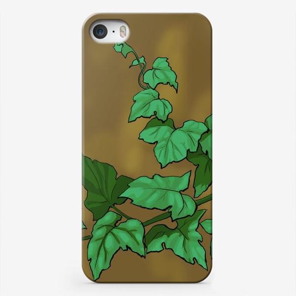 Чехол iPhone «Плющ»
