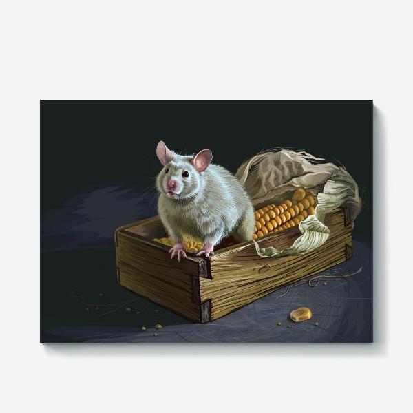 Холст «Мистер Крыс»