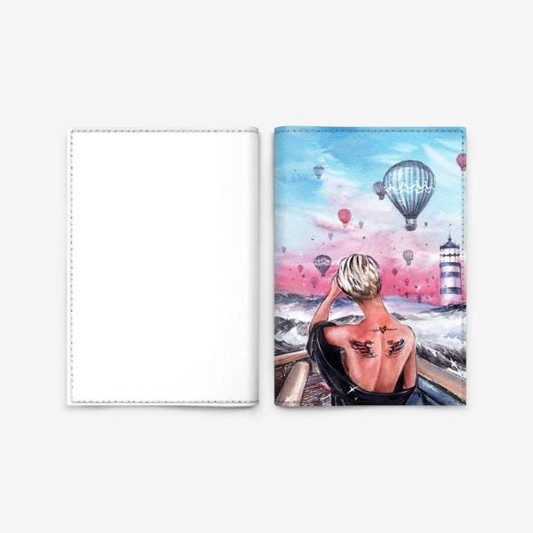 Обложка для паспорта « почувствуй крылья за спиной»