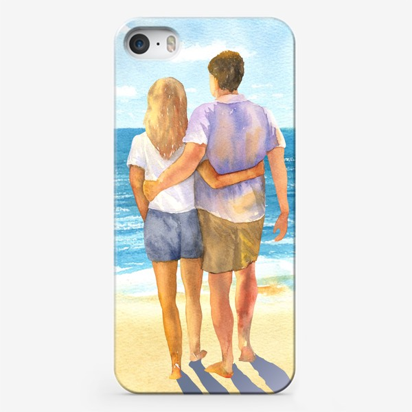 Чехол iPhone «Я, ты и море»