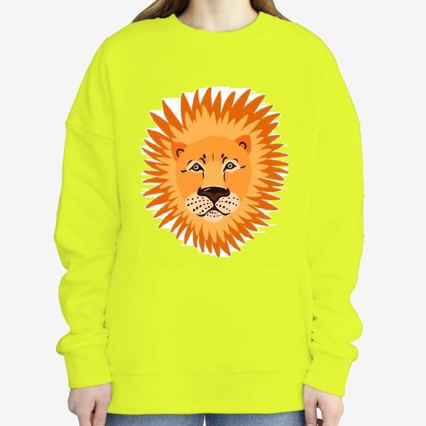 Свитшот «лев»