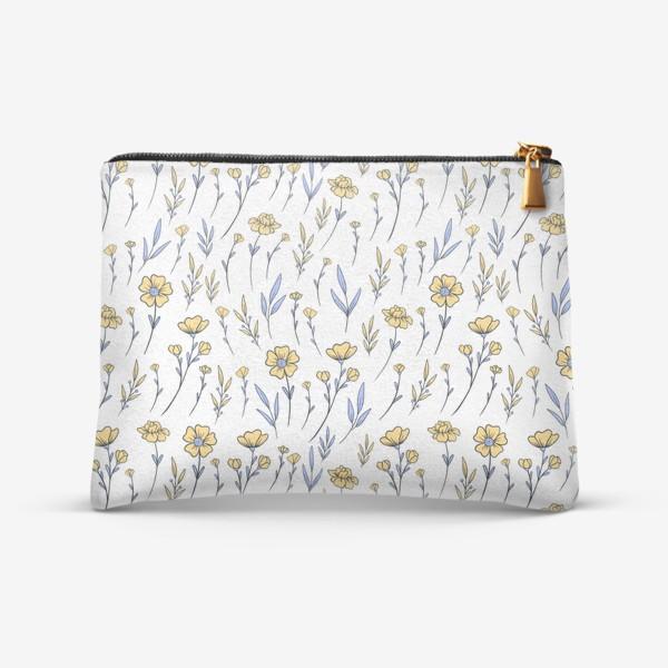 Косметичка «Лютики/Полевые цветы»