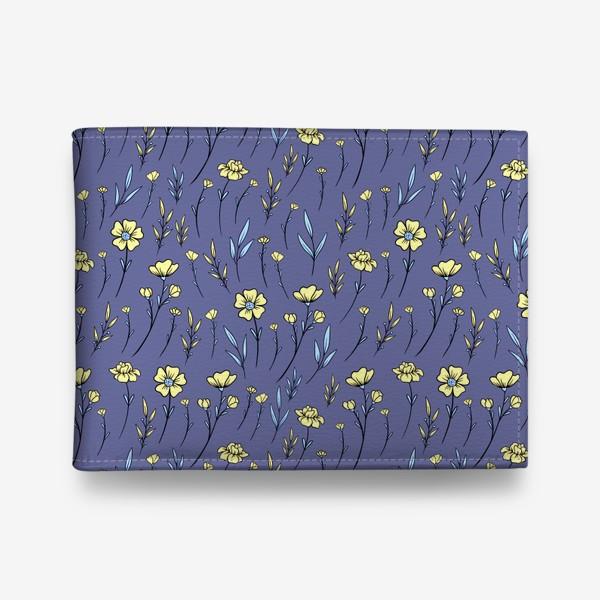 Кошелек «Лютики/Полевые цветы»