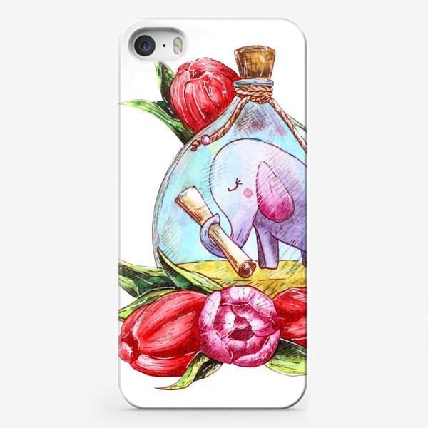 Чехол iPhone «Письмо в бутылке»