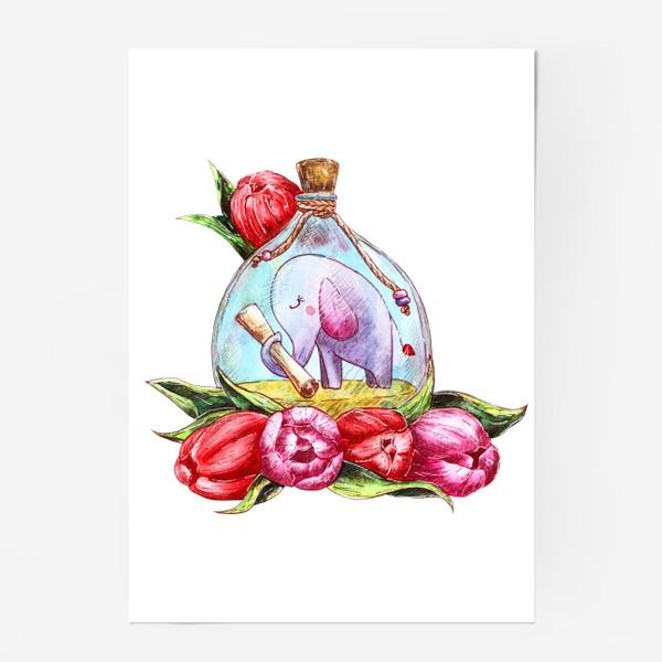 Постер «Письмо в бутылке»