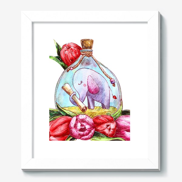 Картина «Письмо в бутылке»