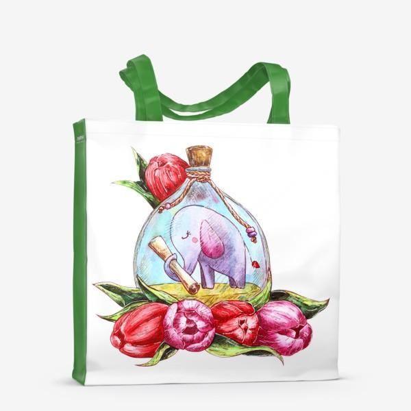 Сумка-шоппер «Письмо в бутылке»