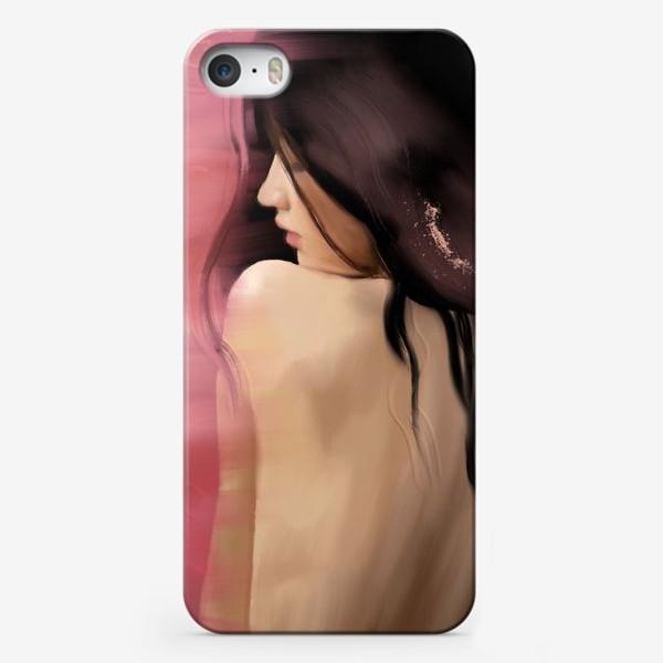 Чехол iPhone «ОНА диджитал картина в стиле масло»