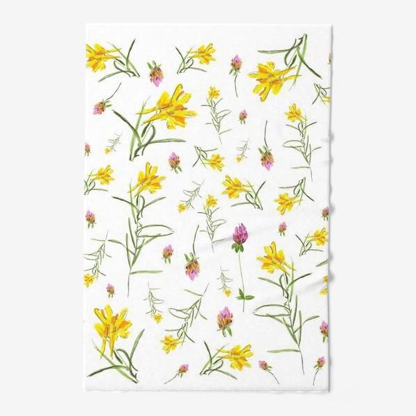 Полотенце «Летние цветы»