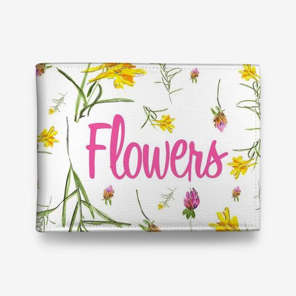 Кошелек «Полевые цветы»