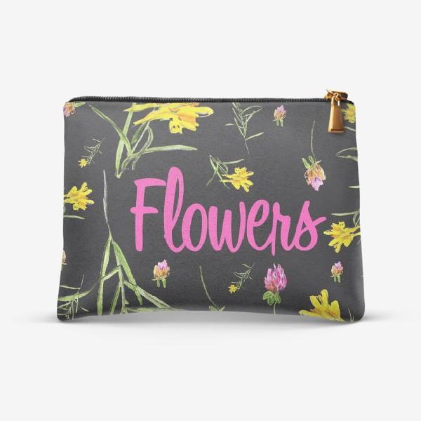 Косметичка «Flowers»