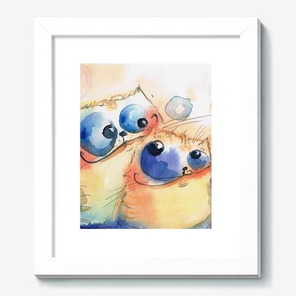 Картина «Теплые коты»