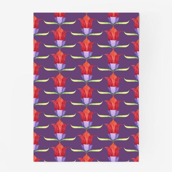 Постер «декоративные цветы»