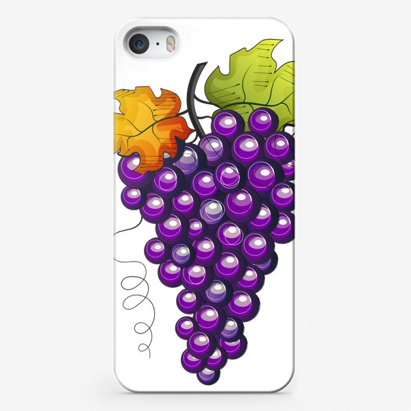 Чехол iPhone «Виноград»
