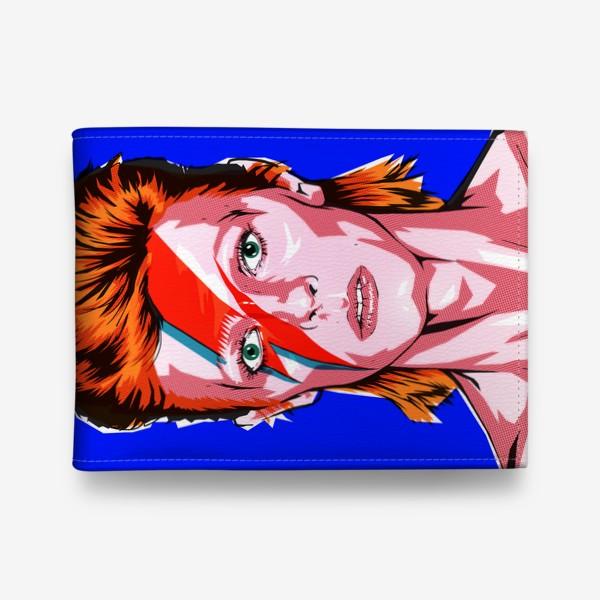Кошелек «Зигги Стардаст (Дэвид Боуи) эффект печати»