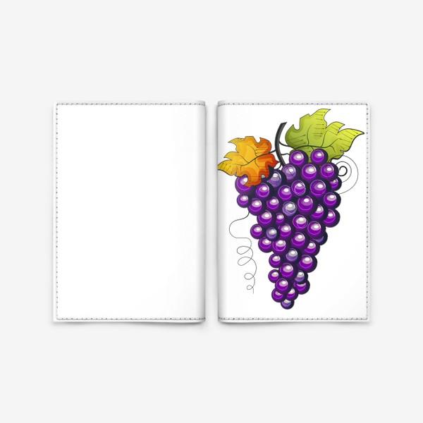 Обложка для паспорта «Виноград»