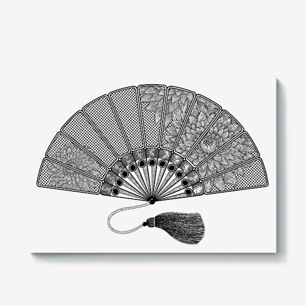 Холст «Японский веер»