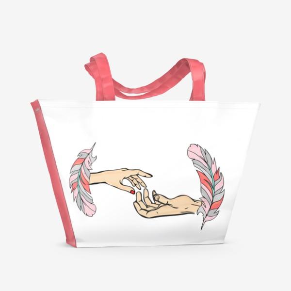 Пляжная сумка «Тепло»