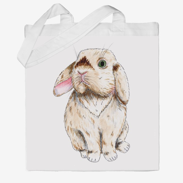 Сумка хб «Кролик»