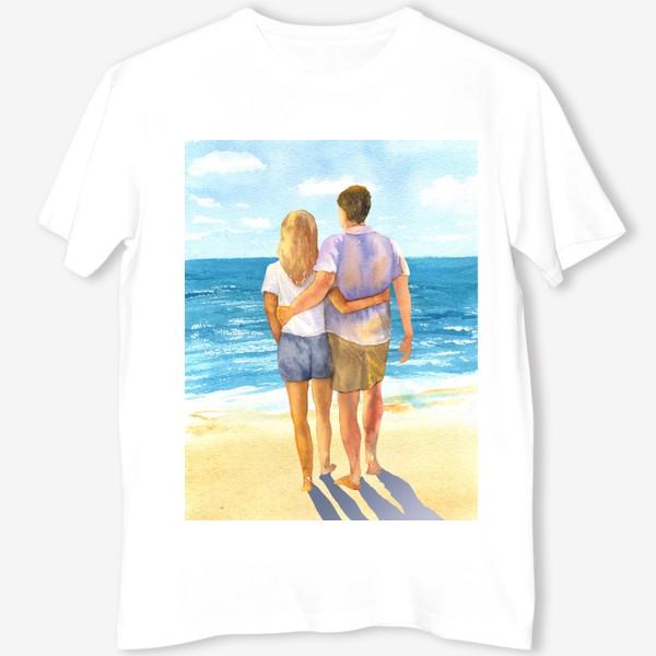 Футболка «Я, ты и море»