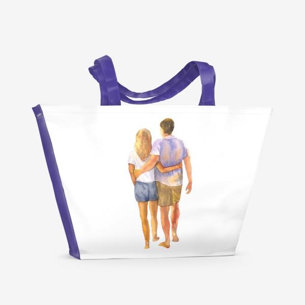 Пляжная сумка «Паройходы»