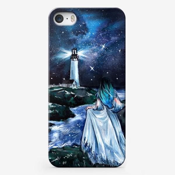 Чехол iPhone «сияние в бархатной тьме»