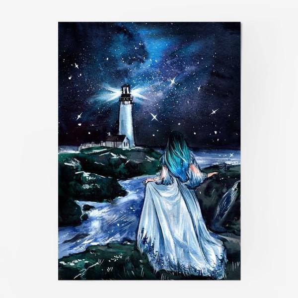 Постер «сияние в бархатной тьме»