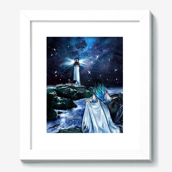 Картина «сияние в бархатной тьме»