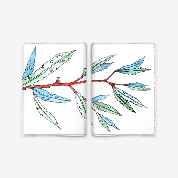 Обложка для паспорта «Летняя листва»