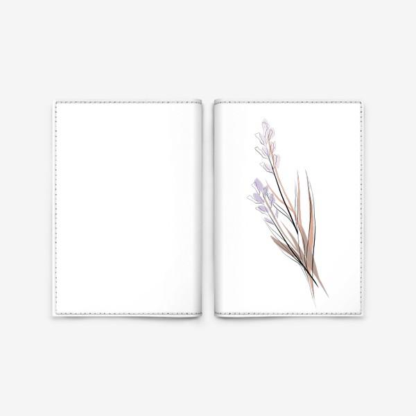 Обложка для паспорта «Нежный букет»