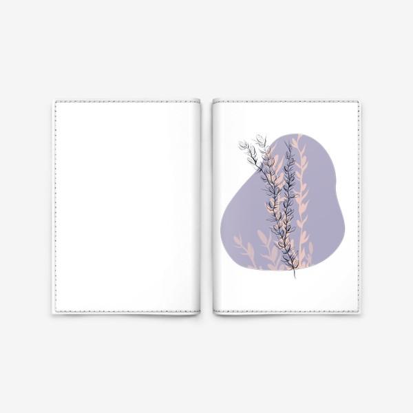 Обложка для паспорта «Нежная веточка»