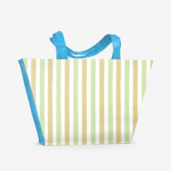 Пляжная сумка «Полоска»