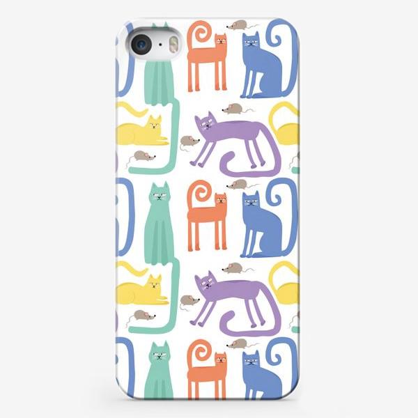 Чехол iPhone «Кошки»