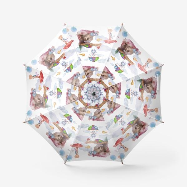 Зонт «Зайчики в полете»