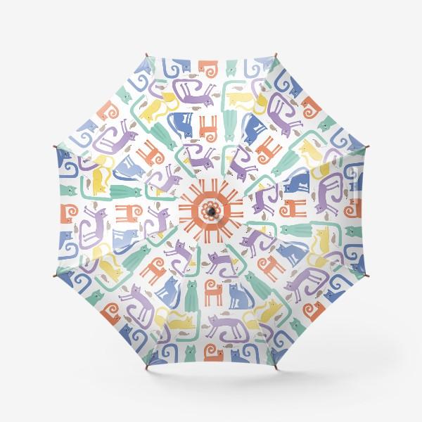 Зонт «Кошки»