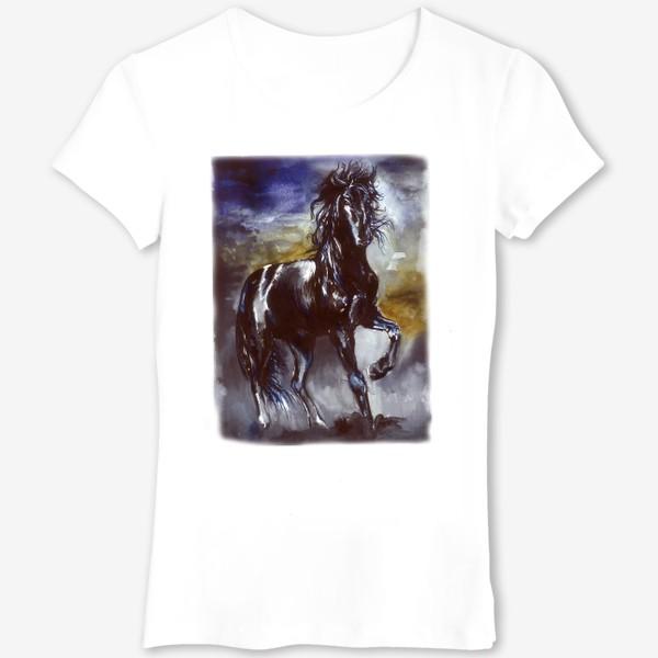 Футболка «Конь »