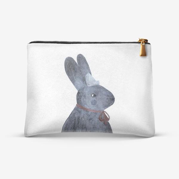 Косметичка «Портрет зайца»