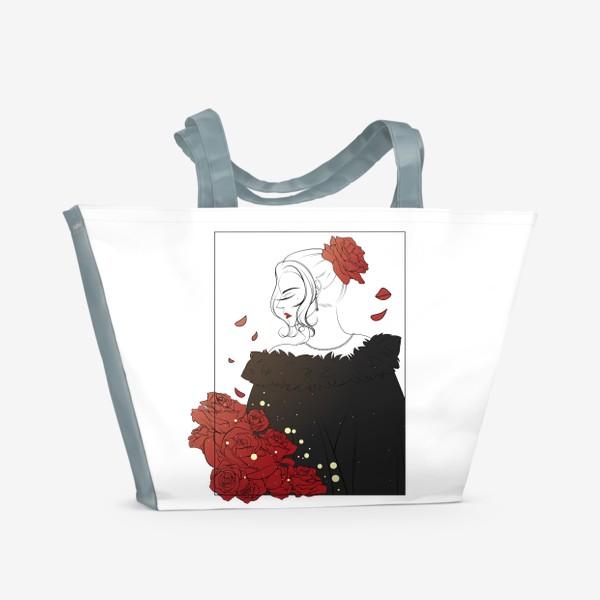 Пляжная сумка «Благородная леди»