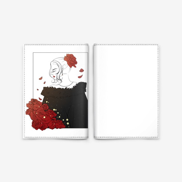 Обложка для паспорта «Благородная леди»