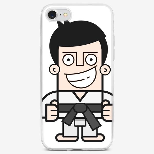 Чехол iPhone «Каратист»